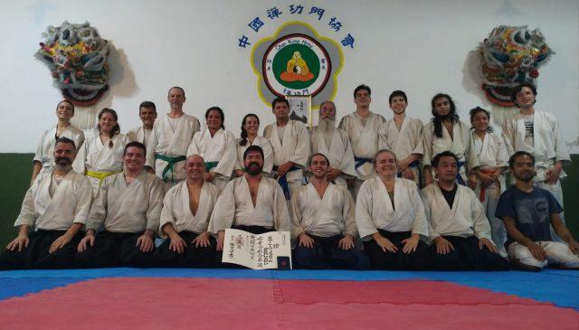 Diploma internacional para nuestro profesor de Aikido